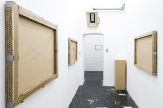 exhibition view, solo show, 2014