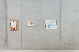 exhibition view, <i>on site hohenems</i>, group show, 2015
