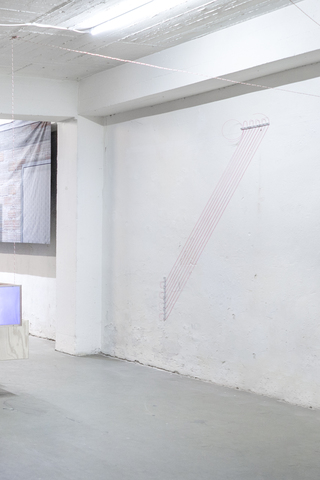 exhibition view, <i>Transitionen</i>, Antichambre, Düsseldorf, 2019